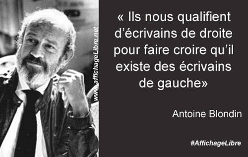Citation Antoine Blondin